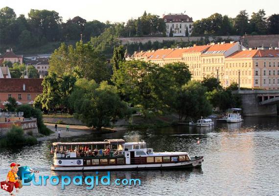 билеты на водный транспорт в Праге