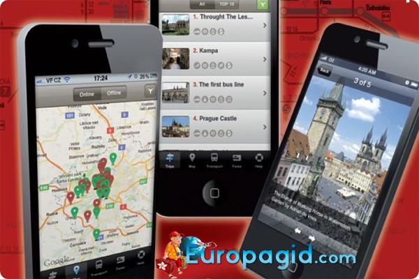 информация про мобильный интернет в Праге