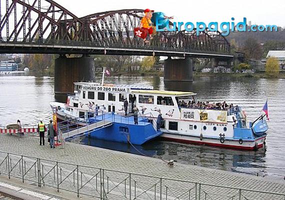 купить билеты на водный транспорт Праги