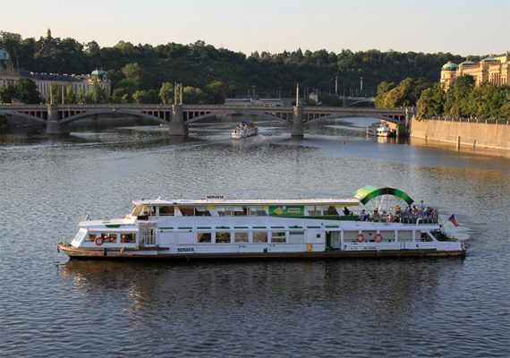 маршруты водного транспорта Праги