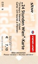 билеты на транспорт в вене 24