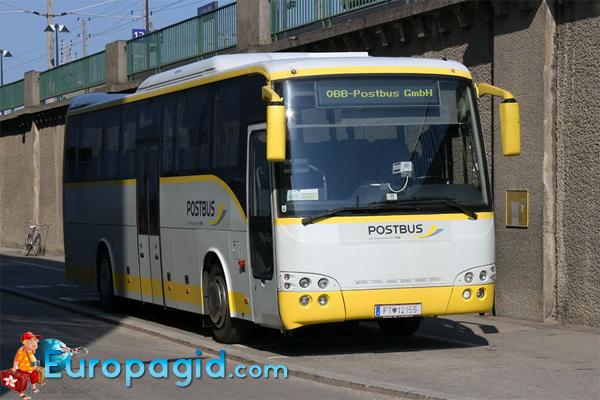 городские автобусы Вены