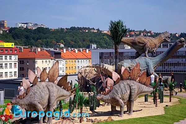 динопарк в Праге  для Вас
