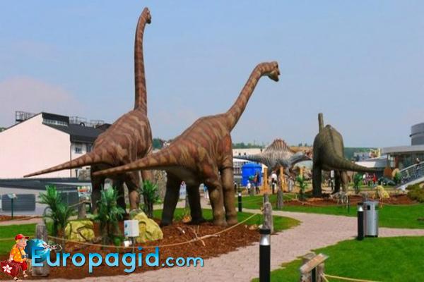 дино-парк в Праге