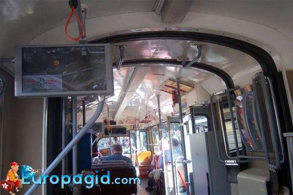 маршруты трамваев Вены