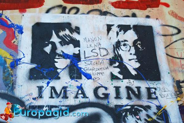 стена Ленонна в Европе