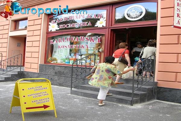 что привезти из Праги косметика