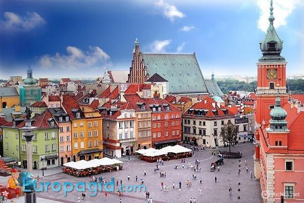 Варшава столица Польши