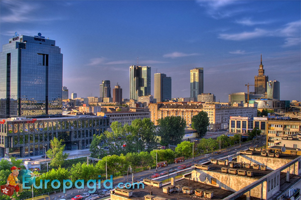 Город Варшава