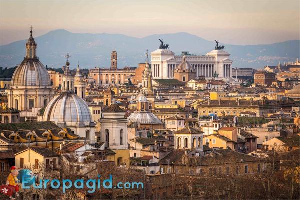 Город Рим Италия