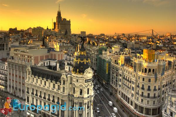 Мадрид это крупнейший город