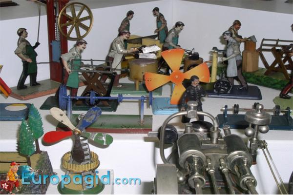 Пражский музей игрушек