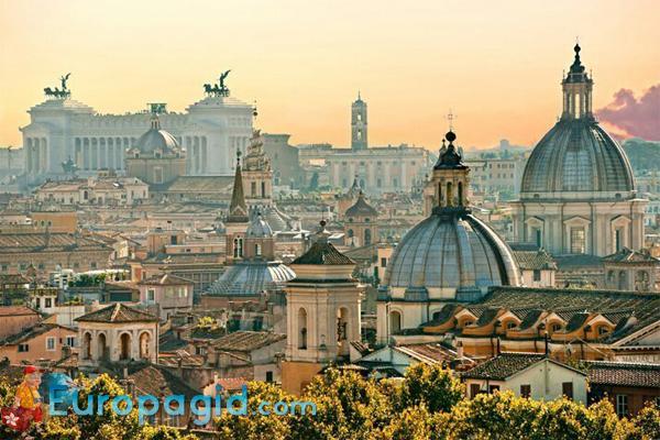 Рим столица Италии для Вас