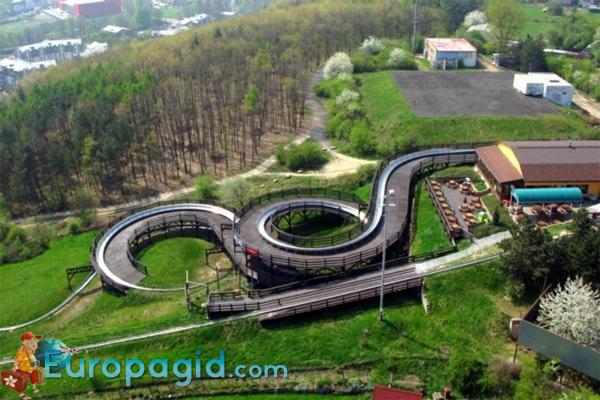 бобслейная дорога в Праге