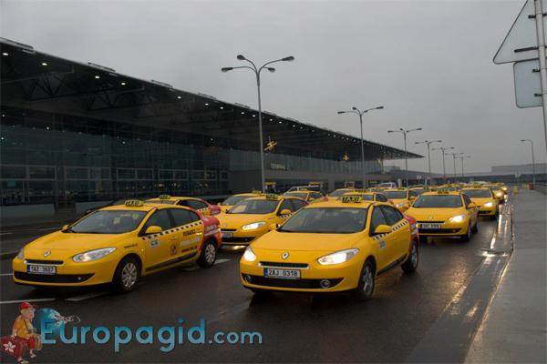 как доехать до аэропорта Праги
