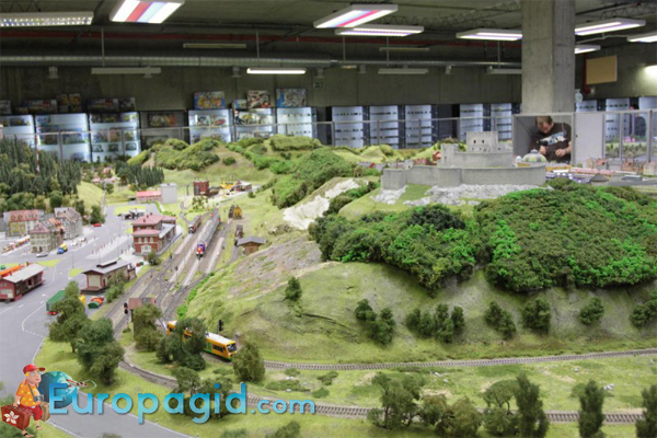 королевство железных дорог в Праге 2