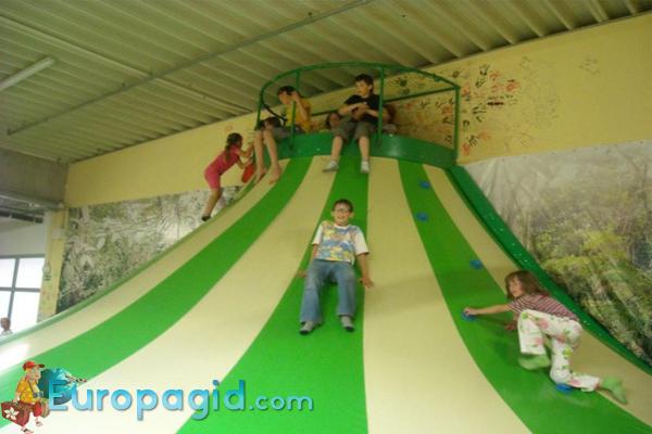 парк развлечений Beckiland в Праге
