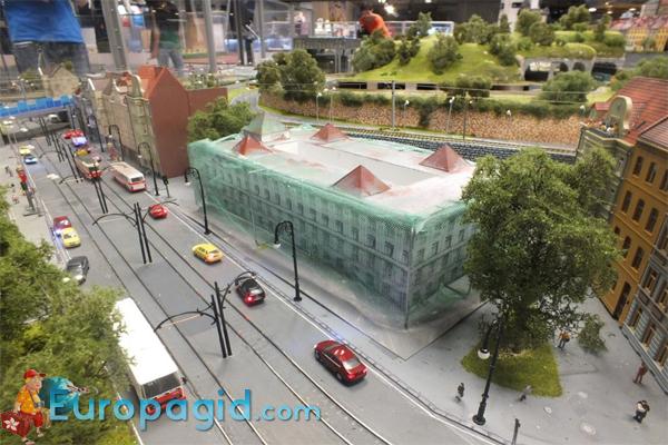 цена билета в музей королевство железных дорог Прага