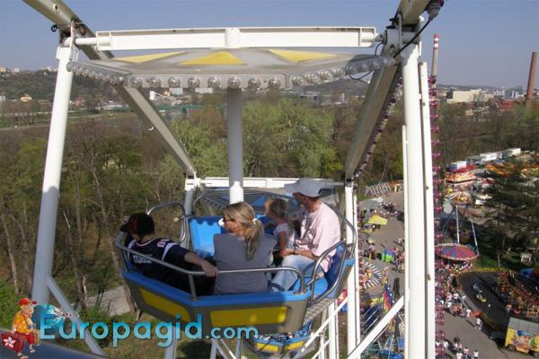 цены на билеты в лунапарк  Праге