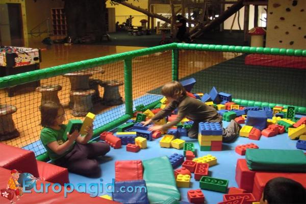 Beckiland детский развлекательный центр в Праге
