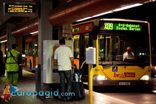 билеты на транспорт в Берлине