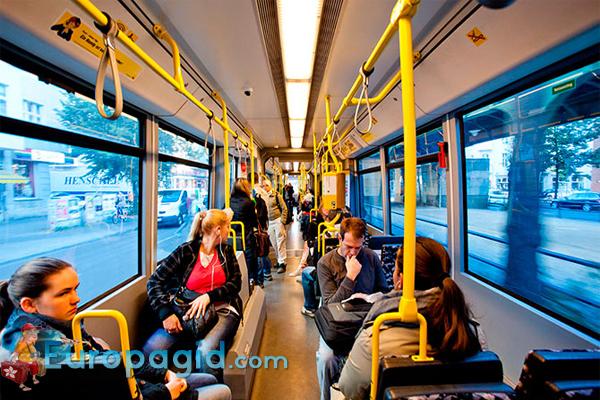 городской транспорт Берлина