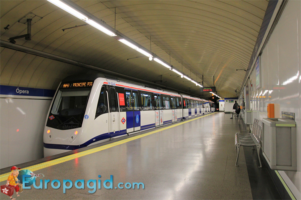 метрополитен Мадрида