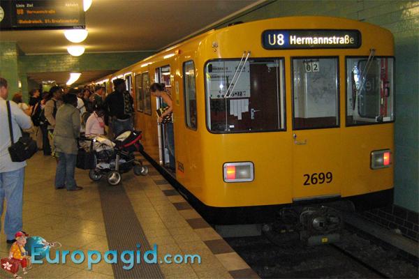 метро Берлина для всех
