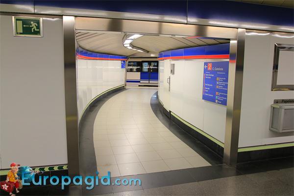 метро Мадрида для Вас