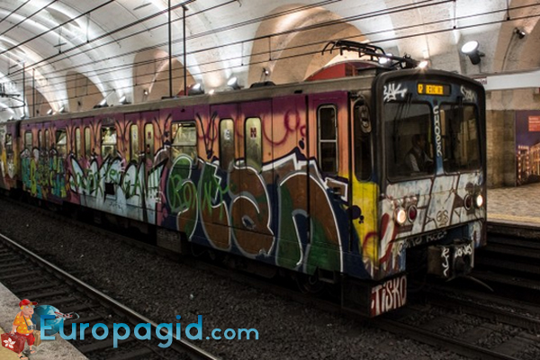 метро Рима схема