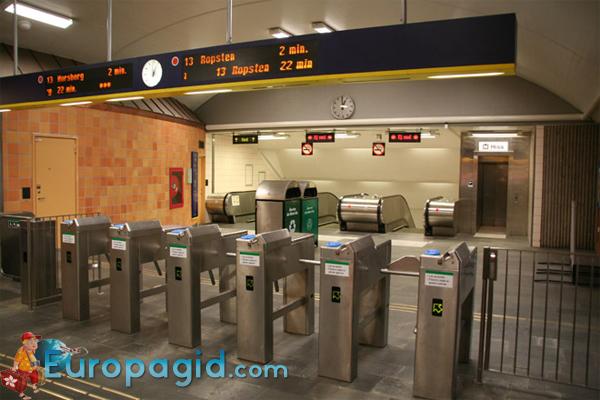 метро в Стокгольме на русском для вас