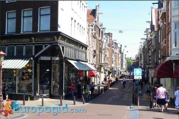 Амстердам столица Голландии