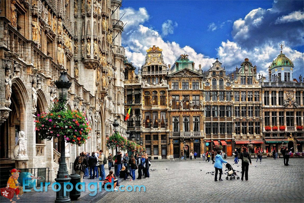 Бельгия Брюссель архитектура