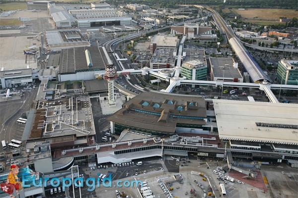 Терминалы аэропорта Рима