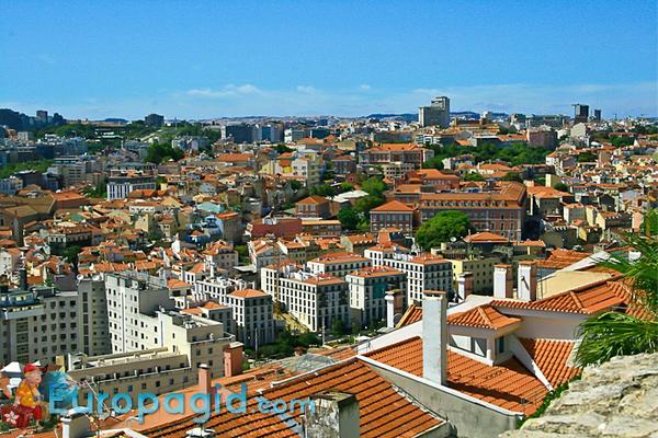 Лиссабон столица Португалии