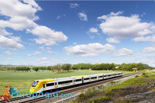 Стокгольм как добраться из аэропорта на поезде
