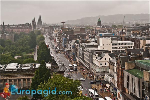 Эдинбург столица какой страны