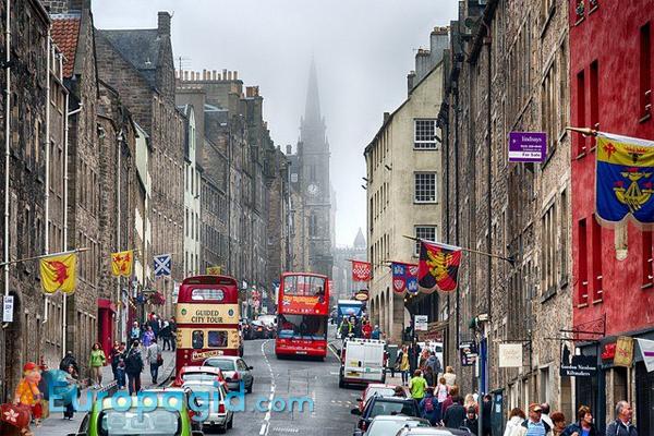 город Эдинбург столица