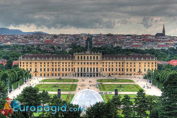 дворец Шенбрунн как добраться