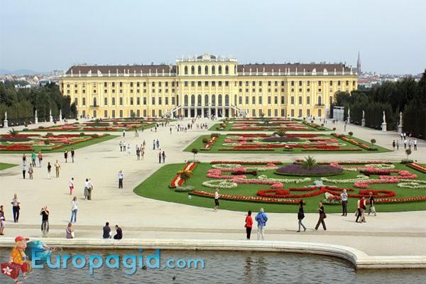 дворец Шенбрунн стоимость билетов