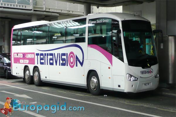 из аэропорта Рима на автобусе