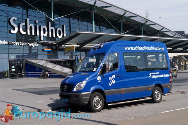 как добраться из аэропорта Амстердама на автобусе