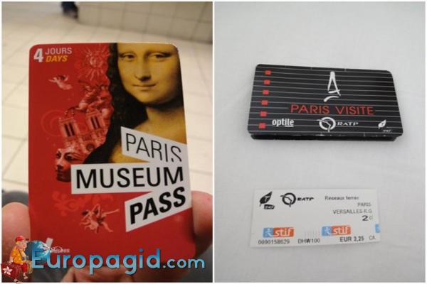 музейная карта Парижа