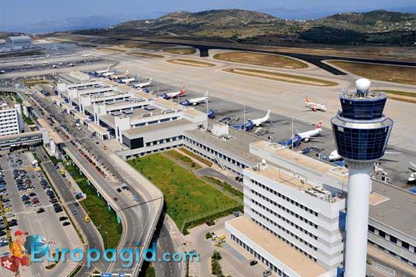аэропорт Афины