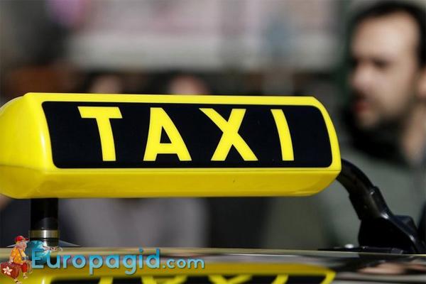 из аэропорта Афин на такси