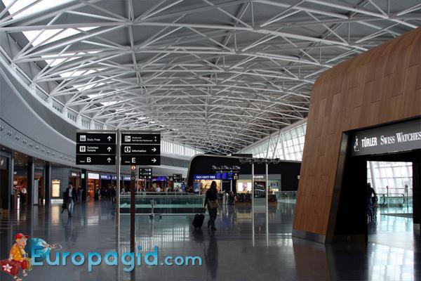 сервисы аэропорта Цюриха для вас