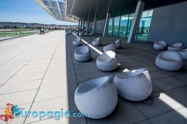 сервисы аэропорта Цюриха