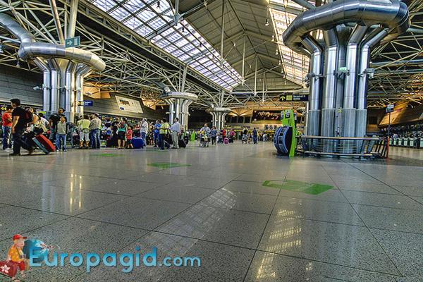 сервис в аэропорте Портела