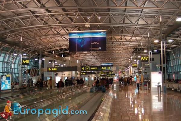 сервис в аэропорту Брюсселя