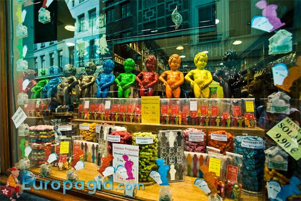 Известные сувениры из Брюсселя